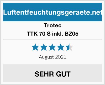 Trotec TTK 70 S inkl. BZ05 Test