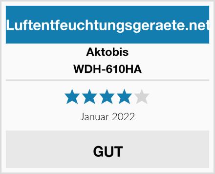 Aktobis WDH-610HA Test