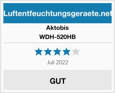Aktobis WDH-520HB Test