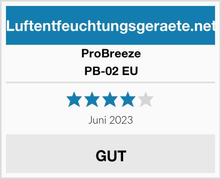 ProBreeze PB-02 EU Test