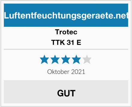Trotec TTK 31 E Test