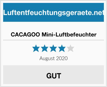 CACAGOO Mini-Luftbefeuchter Test