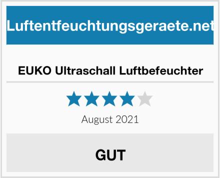 EUKO Ultraschall Luftbefeuchter Test