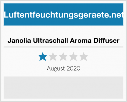 Janolia Ultraschall Aroma Diffuser Test