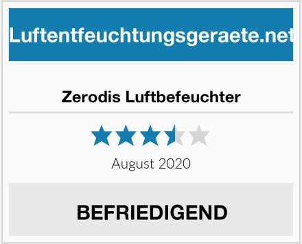 Zerodis Luftbefeuchter Test