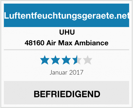 UHU 48160 Air Max Ambiance Test