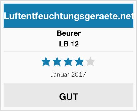 Beurer LB 12 Test