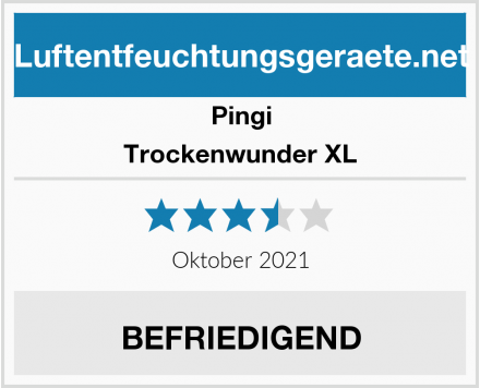 Pingi Trockenwunder XL Test