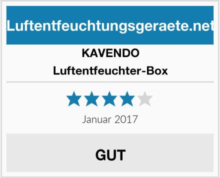 KAVENDO Luftentfeuchter-Box Test