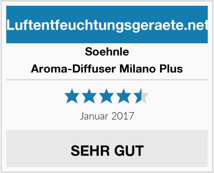 Soehnle Aroma-Diffuser Milano Plus Test